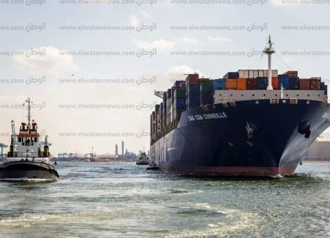 ميناء دمياط: مغادرة 67 سيارة نقل محملة بـ2948 طن قمح