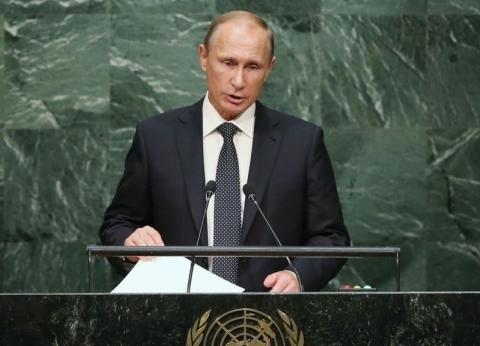 بوتين يعزي مصر في ضحايا حادثة محطة مصر