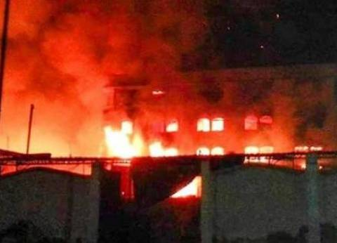 إصابة 4 في حريق بقاعة أفراح وسط الإسكندرية