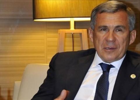 رئيس تتارستان: السيسي فاجأني بمعلومات مهمة يعرفها عن دولتنا