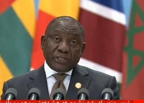 رئيس جنوب إفريقيا: نسعى للاستفادة من تجارب الصين في استغلال مواردها