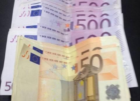 """""""اليورو"""" يسجّل أعلى سعر للشراء في بنك الأهلى اليوناني"""
