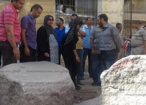 رئيس مدينة سمنود يعلن انتهاء نقل بقايا تاج أثري للمتحف المصري