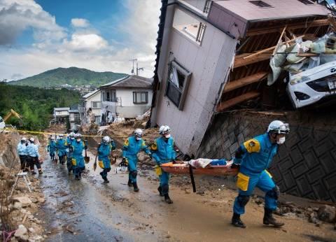 أمطار اليابان تودي بحياة 109 أشخاص