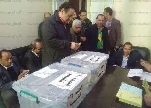 بالصور| أجواء هادئة في انتخابات الصحفيين بفرعية الإسكندرية
