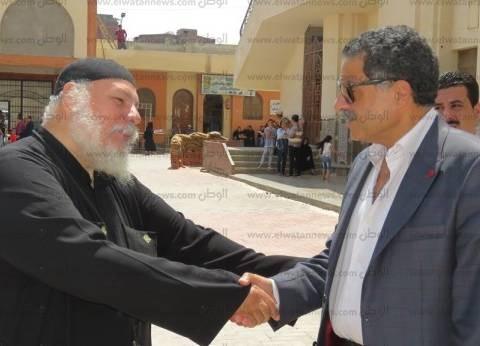 مدير أمن الإسماعيلية يتفقد تأمين الكنائس ودور العبادة بالمحافظة