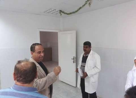 """وكيل """"صحة شمال سيناء"""" يتفقد مستشفيي الشيخ زويد ورفح"""