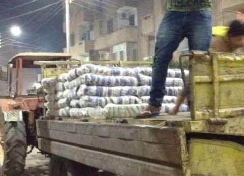 ضبط صاحب مصنع بحيازته 3 أطنان أرز و500 كيلو زيت تمويني بالفيوم