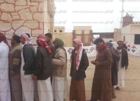 """إقبال كثيف من الناخبين على لجان مدينتي """"النجيلة"""" و""""براني"""""""