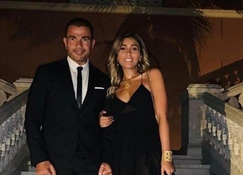 مصادر: عمرو دياب لم يتزوج دينا الشربيني