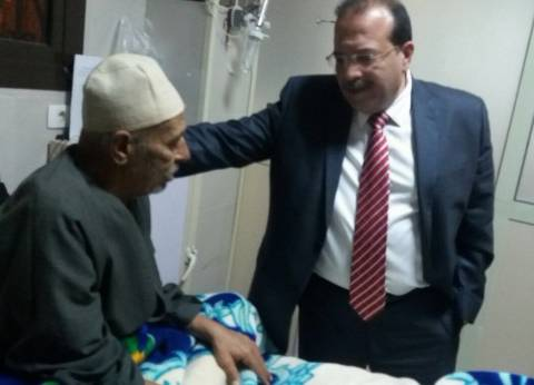 فى جولة مفاجئة.. رئيس جامعة طنطا الجديد يتفقد المستشفيات الجامعية