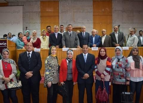 رئيس جامعة المنوفية يشكر منظمي «أسبوع شباب الجامعات»