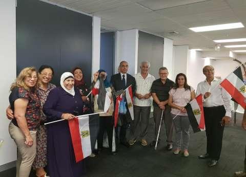 السفارة المصرية في مدريد توفر أتوبيسات لنقل الناخبين لمقار الاقتراع