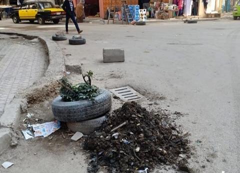 تطهير الشنايش بحي المنتزة أول استعدادا لمواجهة الأمطار في الإسكندرية