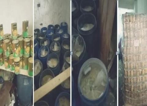 """""""تموين الجيزة"""" تضبط 28 برميل زيت طعام فاسد داخل مصنع غير مرخص"""