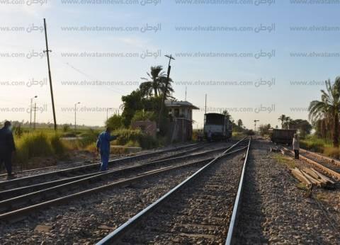 صحة مطروح: مصاب القطار في العناية المركزة وحالته سيئة للغاية
