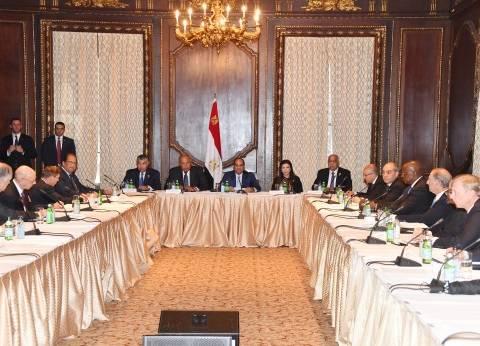 الرئيس لـ«دوائر صنع القرار الأمريكى»: سياسة مصر متوازنة منذ ثورة 30 يونيو
