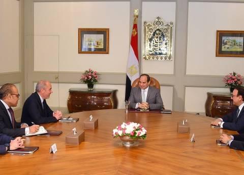 """السيسي يشيد بالتعاون مع """"أورانچ"""" منذ انطلاق عملها في مصر"""
