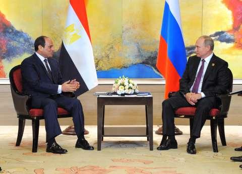 بعد لقاء السيسي وبوتين في «بريكس».. أبرز محطات العلاقات بين مصر وروسيا