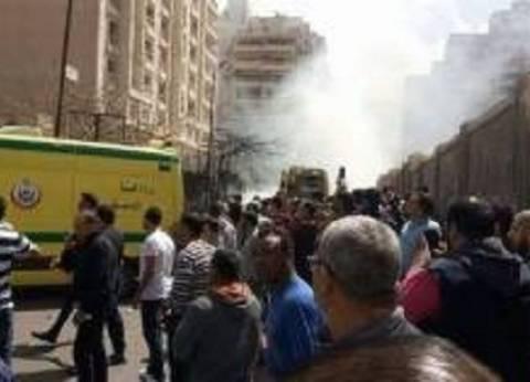 مصرع مجند مصاب بحادث انفجار الإسكندرية