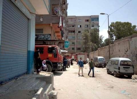 """السيطرة على حريق محدود بـ""""شقة"""" غربي الإسكندرية"""