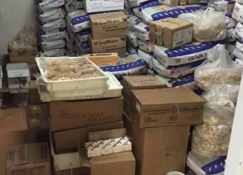 ضبط نصف طن حلويات مجهولة المصدر في الشرقية