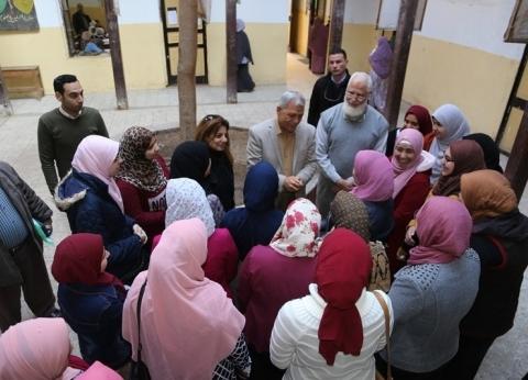 محافظ المنوفية يتابع تنفيذ أعمال «100 مليون صحة» في المدارس