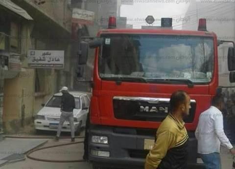 إخماد حريق شب في منطقة فيصل