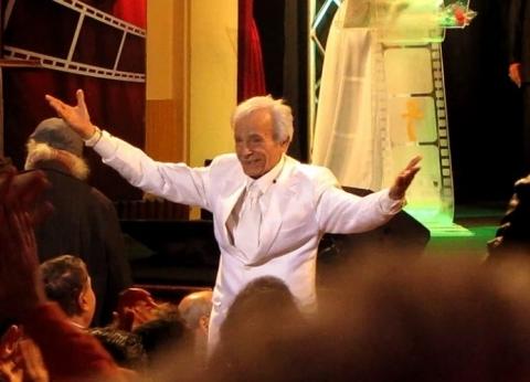 بالصور| تعرف على سر ارتداء سعيد عبد الغني اللون الأبيض