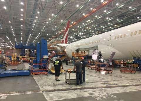 طائرة الأحلام Dreamliner بمطار مصر الدولي قريبا