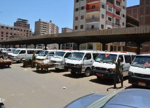إضراب سائقي الخصوص بسبب نقل الموقف