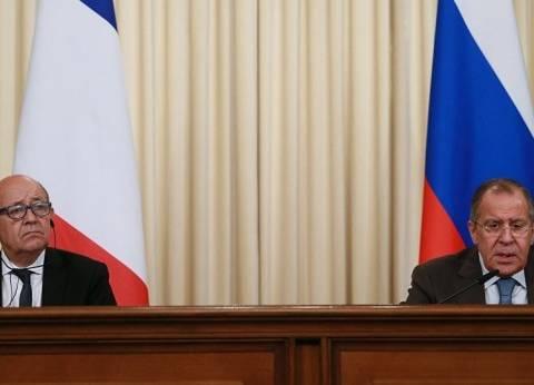 فرنسا: لودريان يأمل بلقاء لافروف على هامش الجمعية العامة للأمم المتحدة