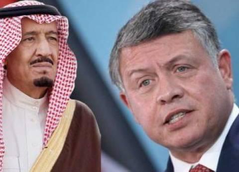 ملك الأردن يؤكد لخادم الحرمين تضامن بلاده مع قرارات المملكة الأخيرة