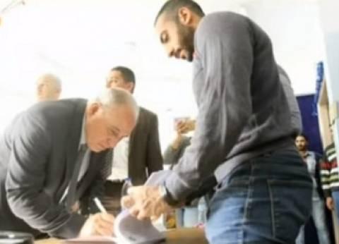 الزند: شاركت في الانتخابات انطلاقا من مشروع قام على دماء الشهداء