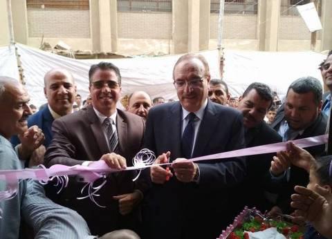 بالصور| محافظ بني سويف يفتتح مقر الوحدة المحلية لمجلس قروي بهبشين
