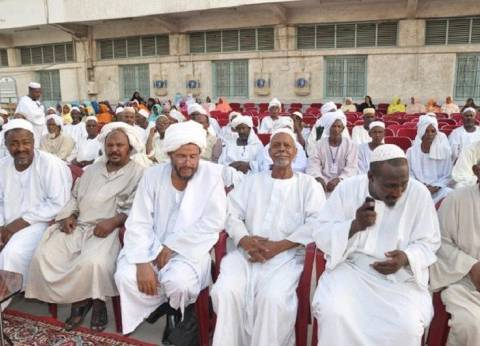 """الفوج الأول من الحجاج السودانيين يصل ميناء """"جدة"""""""