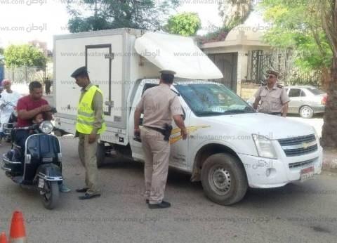 """مدير أمن أسوان لـ""""المرور"""": كثفوا حملاتكم في رمضان"""