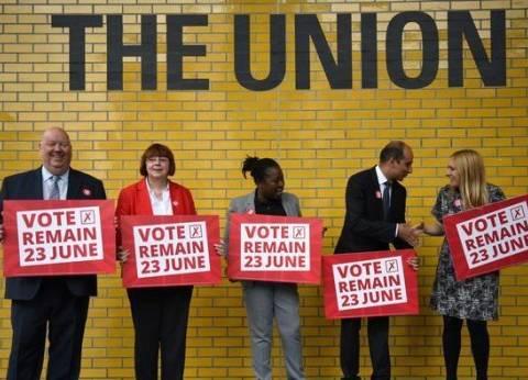 قبل 3 أيام من الاستفتاء.. حملات مكثفة لمؤيدي بقاء بريطانيا في الاتحاد الأوروبي