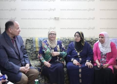 مدير أمن الجيزة يزور دار مسنين في شهر الرحمة