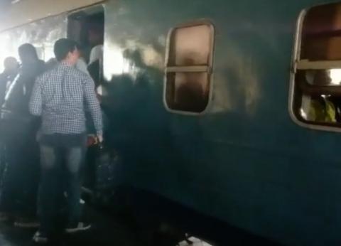 التقرير الطبي لـ12 مصابا في حريق محطة مصر بمعهد ناصر.. بينهم مجهول