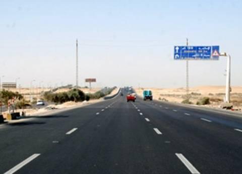 بالفيديو.. انفجار سيارة إثر اصطدامها بأخرى أمام كارتة الإسكندرية على الطريق الصحراوي