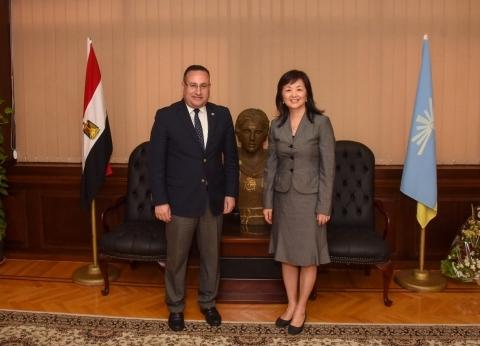 محافظ الإسكندرية يستقبل قنصل عام الصين لمناقشة التعاون