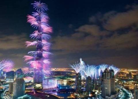 برج خليفة يدخل موسوعة جينيس في احتفالات 2018