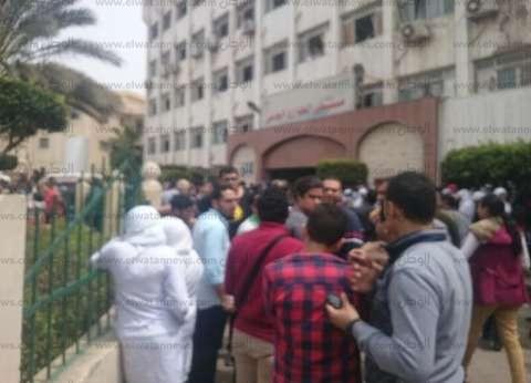الصحة: خروج 13 مصابا من ضحايا انفجار كنيسة طنطا من المستشفيات