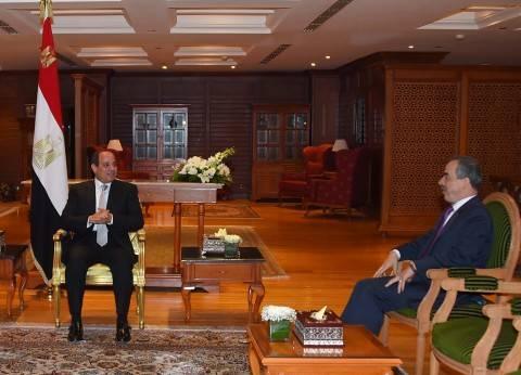 «السيسى»: الشعب المصرى صاحب الحق الأصيل فى انتخاب رئيسه وتحركات السعودية فى جميع الاتجاهات تعكس حكمة وحزماً