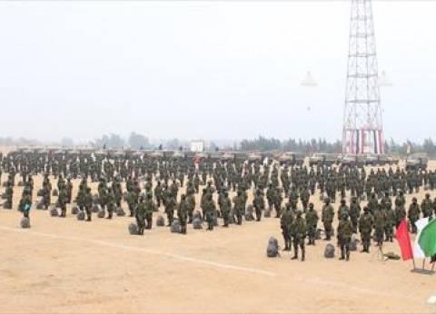 """""""أسود في البر وحوش في البحر"""".. الجيش يستعرض كفاءة الأفرع الرئيسية"""