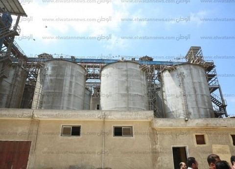"""""""كفر الشيخ"""" تبدأ استلام القمح بـ25 صومعة ومنفذ تسع لـ140 ألف طن"""