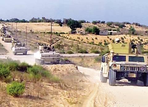 فتح الطريق الدولي بين العريش والشيخ زويد بعد 5 ساعات من إغلاقه