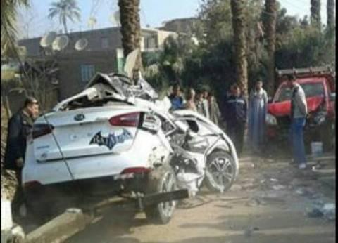 """إصابة 6 موظفين في """"بترول بلاعيم"""" إثر حادث سير بالسويس"""