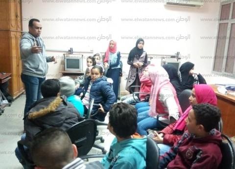 """""""ثقافة جنوب سيناء"""" تنظم عددًا من الورش لتنمية مواهب الأطفال"""